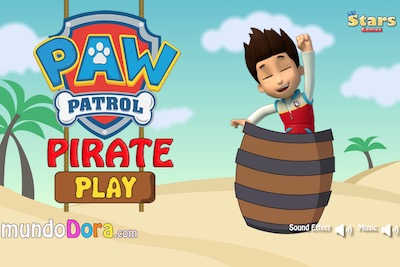 Paw Patrol Pirate