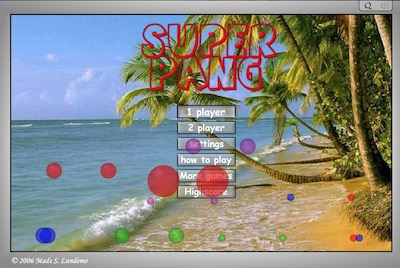 Super Pang the Island Tournament