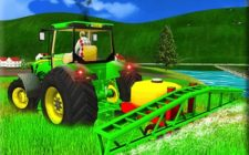 Indian Tractor farm sim