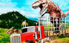 Jurrasic Dino Transport Truck