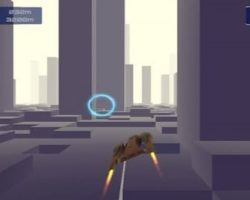 Space Ship Racer Game