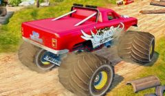 Race with Traffic (Monster Truck Highway)