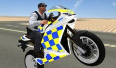 Super Stunt Police Bike Simulator
