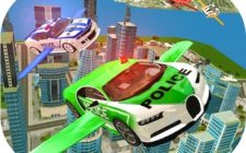 Flying Police Car Sim