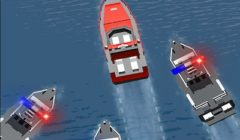 Police Boat Chase (Crash and Collect)